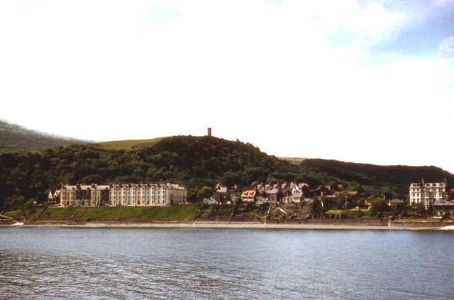 Ramsey from a pleasure boat in Ramsey Bay