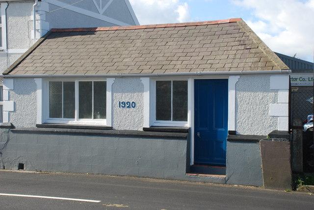 Hen siop y cigydd Chwilog Old butcher's shop