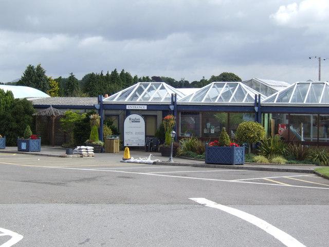 Frontage of Raglan Garden Centre