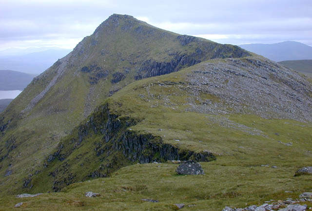 The north ridge of Sgurr nan Each