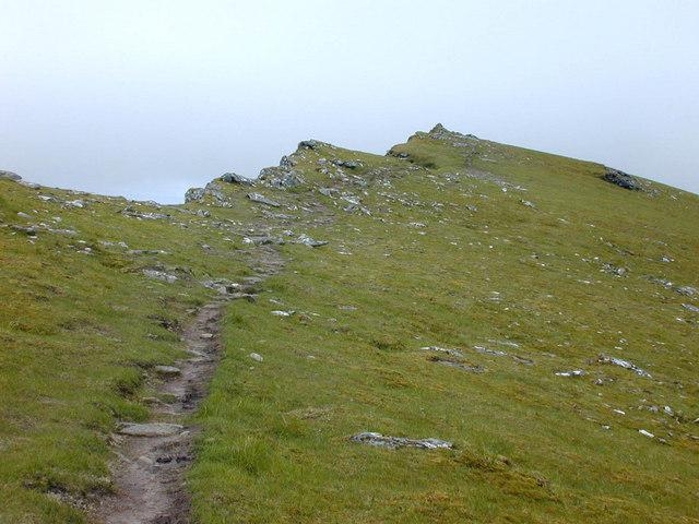 The summit of Sgurr nan Each