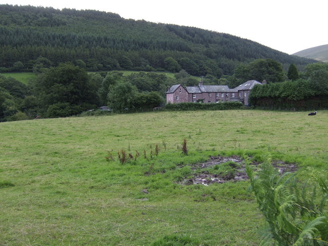 The Caerfanell valley