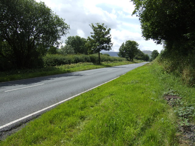 A470 Brecon to Merthyr section near Libanus