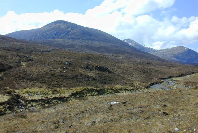 Slopes above the Allt a' Mhadaidh