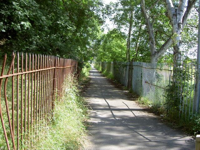 Bridleway near Shotton