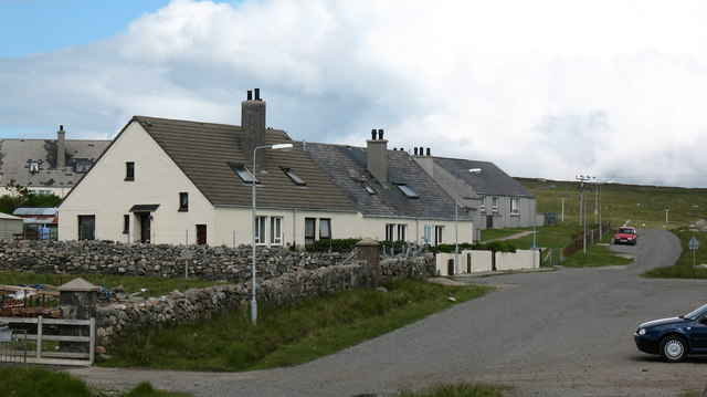 Houses at Timsgarry