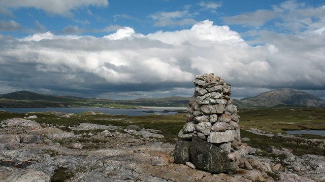Hilltop cairn, Aird Mor Mangurstadh