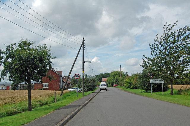 Entering Luddington