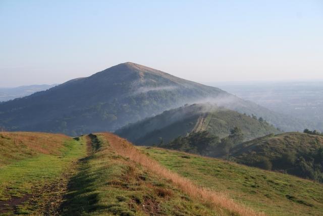 Mist on Perseverance Hill
