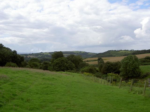 View of Sandstone Ridges near Frodsham