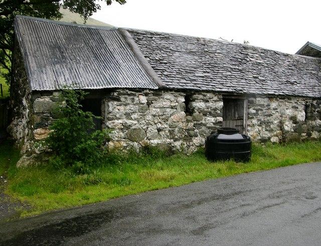 Old barn, Cwm Cywarch valley