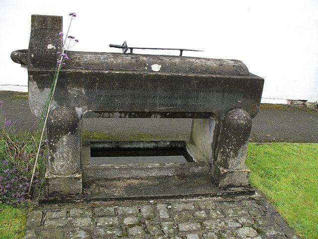 War memorial, Norton