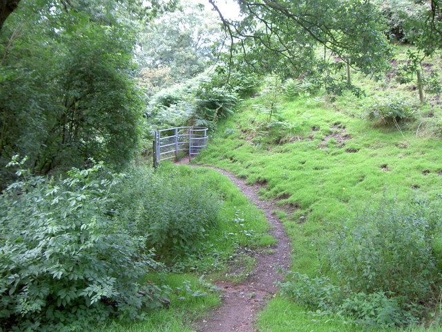 Footpath and Kissing gate
