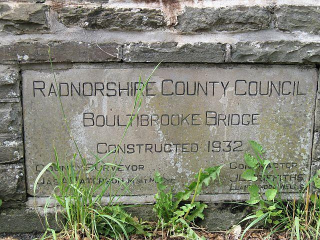 Boultisbrooke Bridge