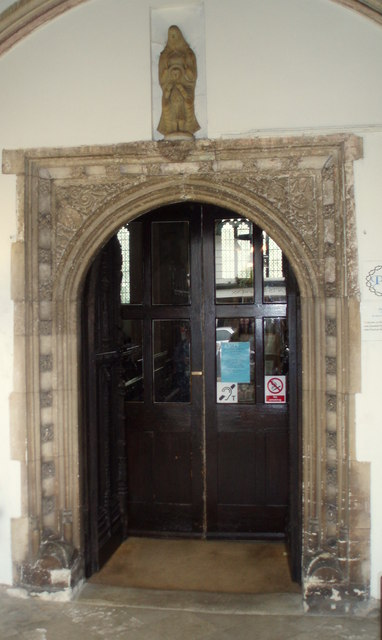 The Inner Door, Church of St. Mary, Totnes