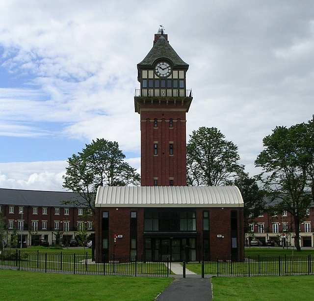Clock Tower of the old Workhouse - Wood Lane