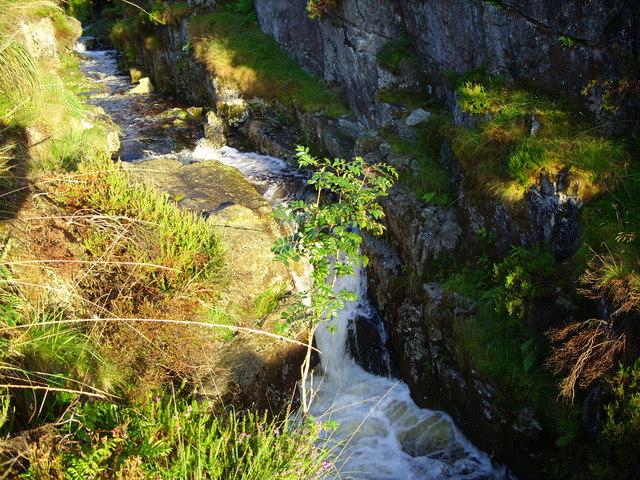 Waterfall on the Louran Burn