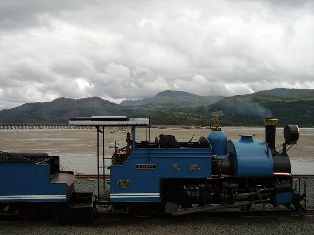 'Sherpa' steam locomotive