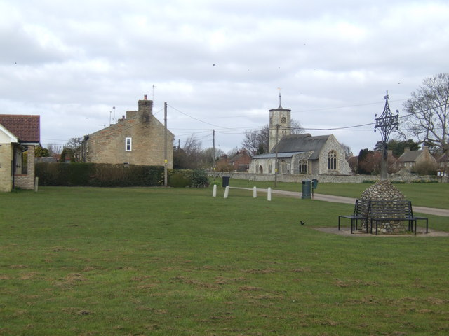 The village green, Beachamwell