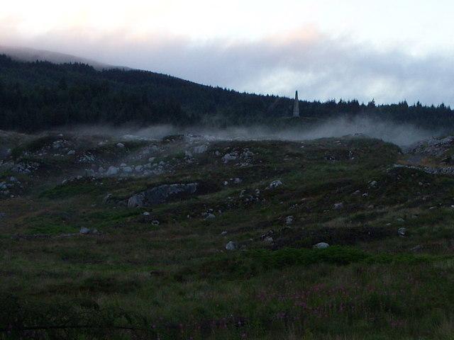Fog moving along the McMoab