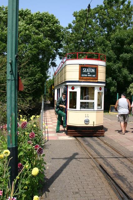 Seaton Electric Tram