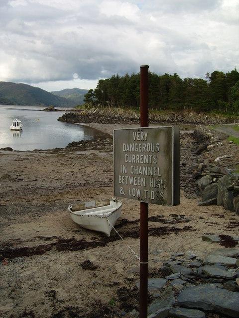 Low tide on the Mawddach estuary