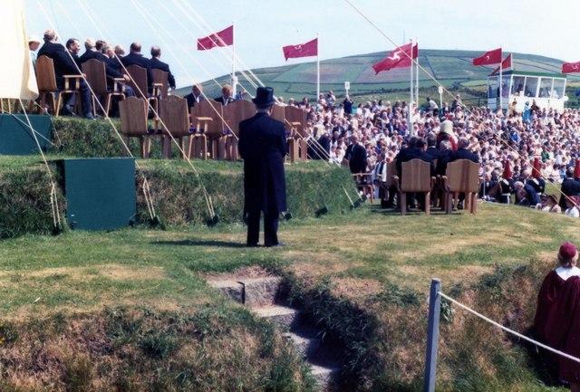Tynwald Day (Midsummer) July 1983