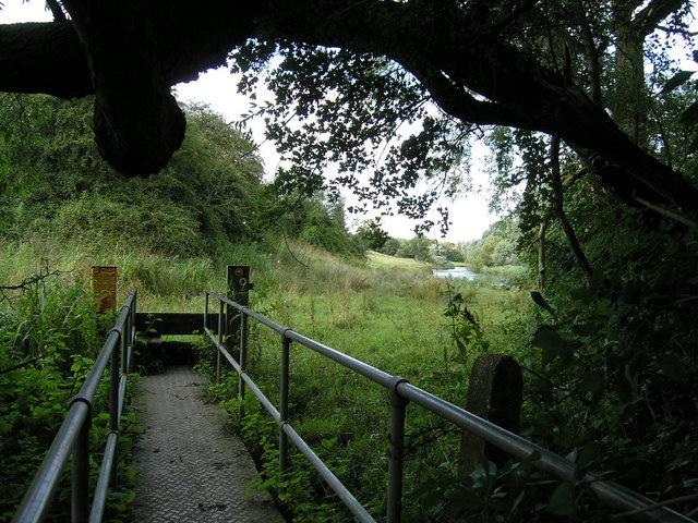 Footbridge near River Ouse