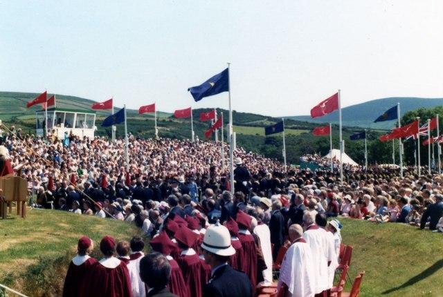 Tynwald Day July 1983