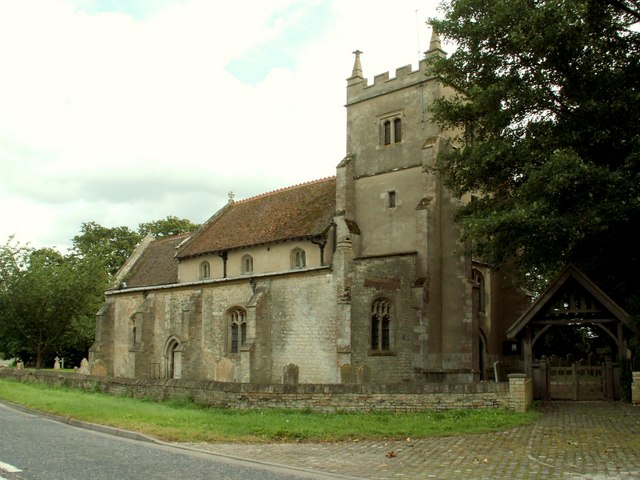 St. Laurence's church at Wicken