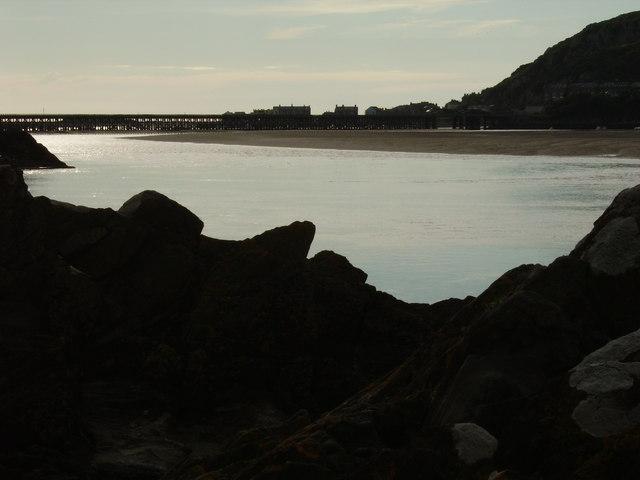 Evening across the Mawddach estuary