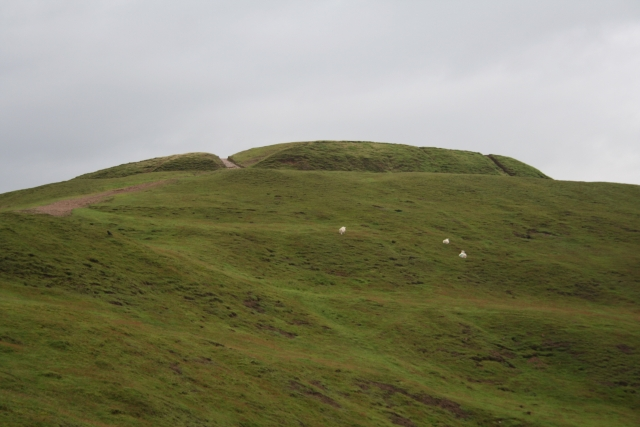 The Norman Motte on Herefordshire Beacon