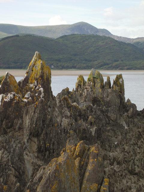 Rocks decorated with Lichen