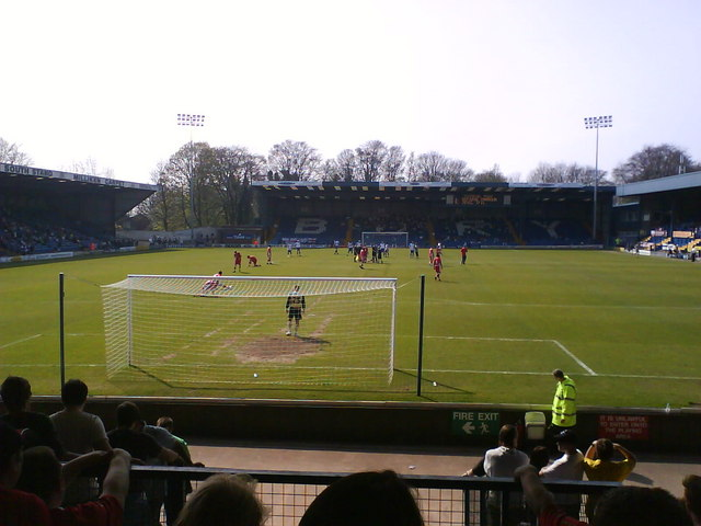 Gigg Lane, home of Bury FC