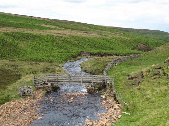 Footbridge over Quickcleugh Burn