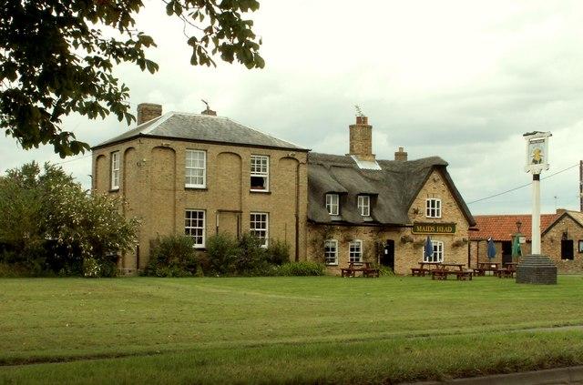 'The Maid's Head' inn at Wicken