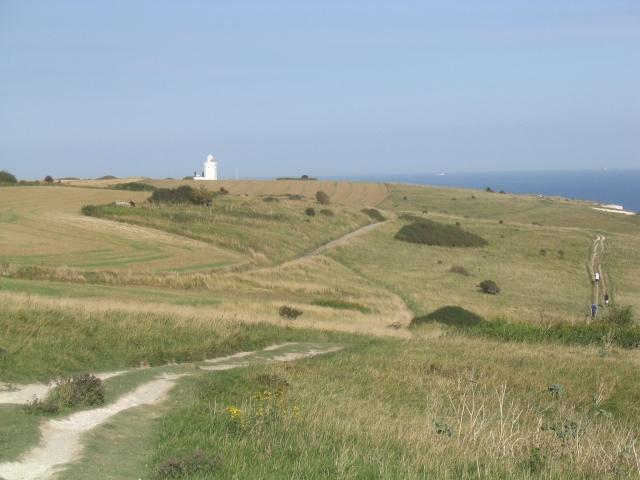 Saxon Shore Way near Dover