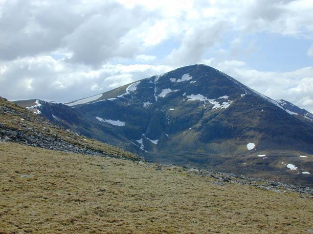 Western slopes of Beinn Liath Mhor Fannaich