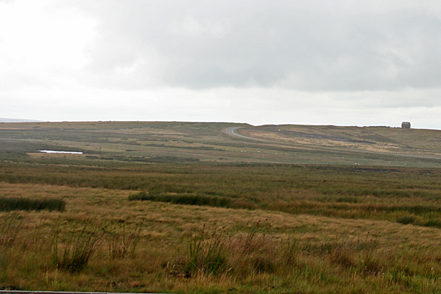 View across Blackshield Bog