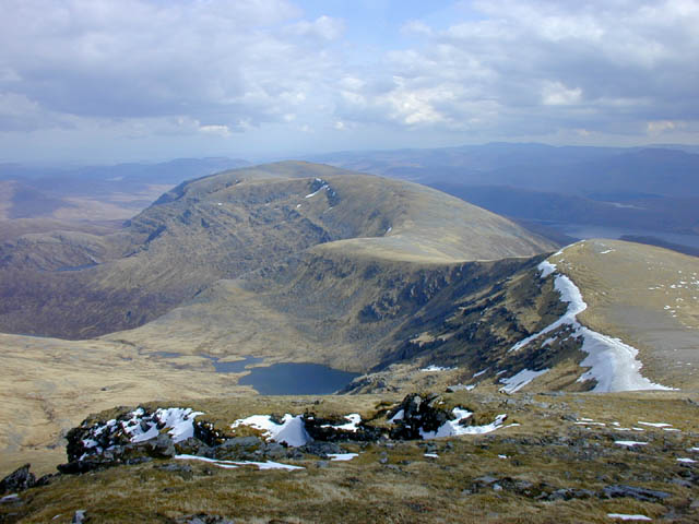 View south east from Sgurr Mor