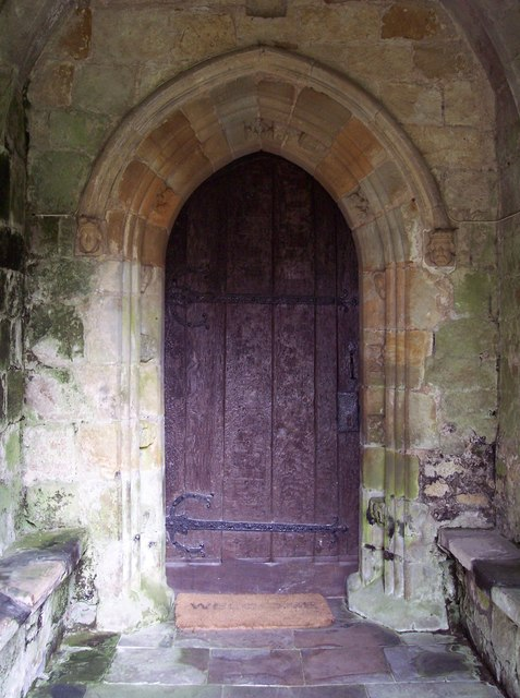 St Nicholas Church - Door