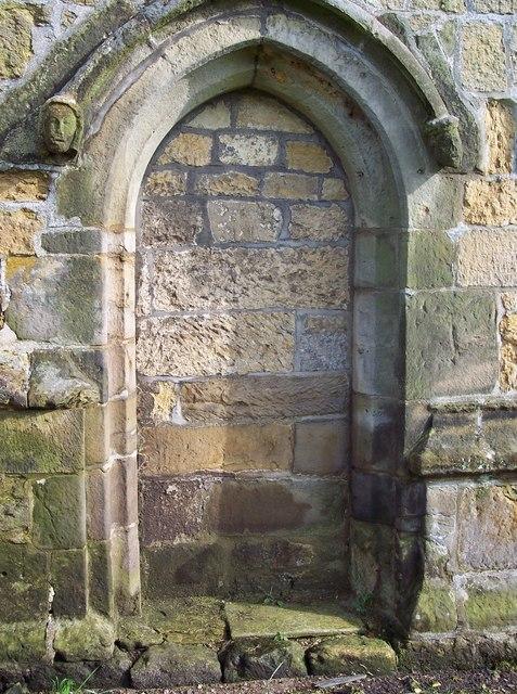 St Nicholas Church - Blocked Door