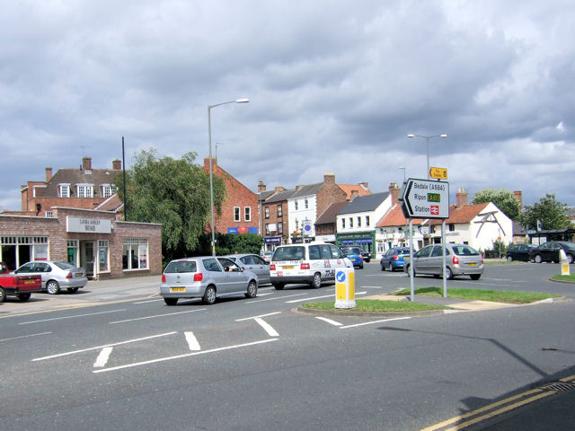 Northallerton - Roundabout at High Street (southern end)