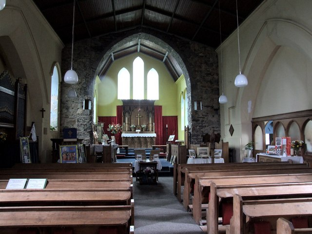 Interior of the Church of St John, Ballachulish