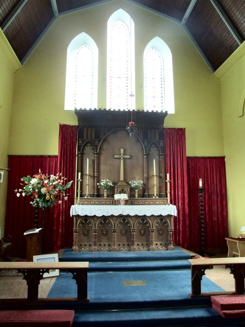 Interior of the Church of St John, Ballachulish