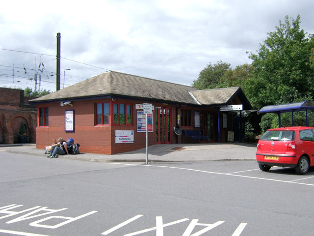 Northallerton Railway Station - ticket office