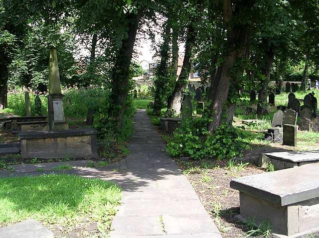 Rothwell Church Graveyard - Church Street