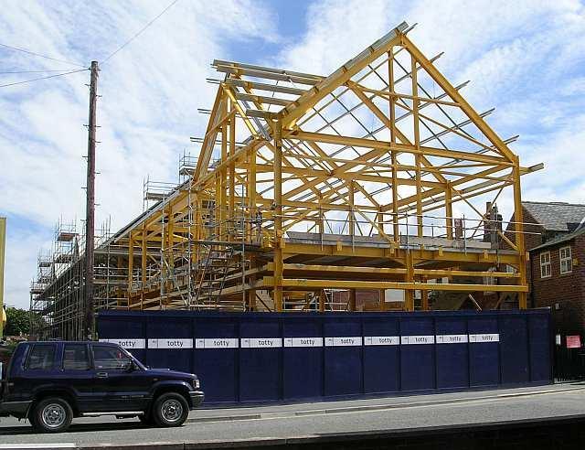 New premises for Wm. Morrison's Ltd - Meynell Avenue