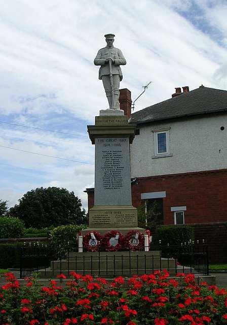 War Memorial - Gillett Lane