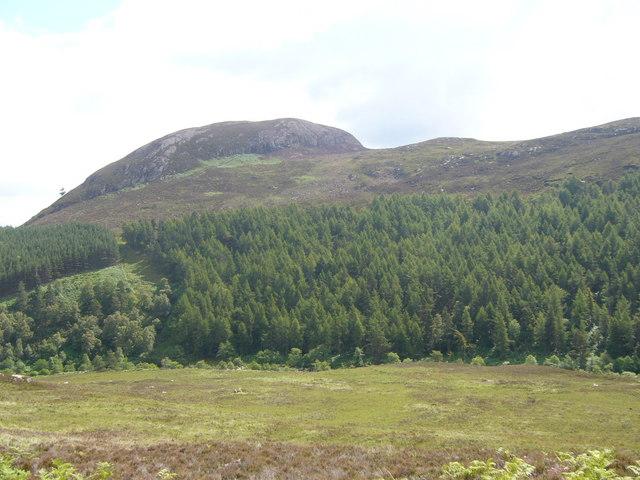 Western slopes of Cul Mor above Glen Orrin